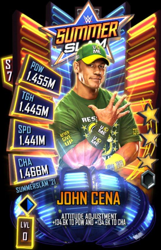 WWE SuperCard SummerSlam 2021 John Cena