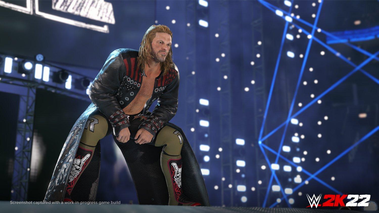 WWE 2K22: Edge Entrance