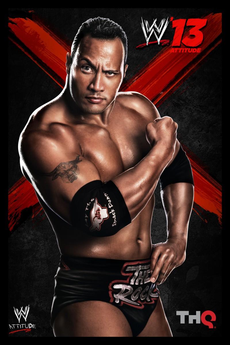 The Rock @ WWE 13